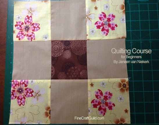 howto read a quilt pattern s