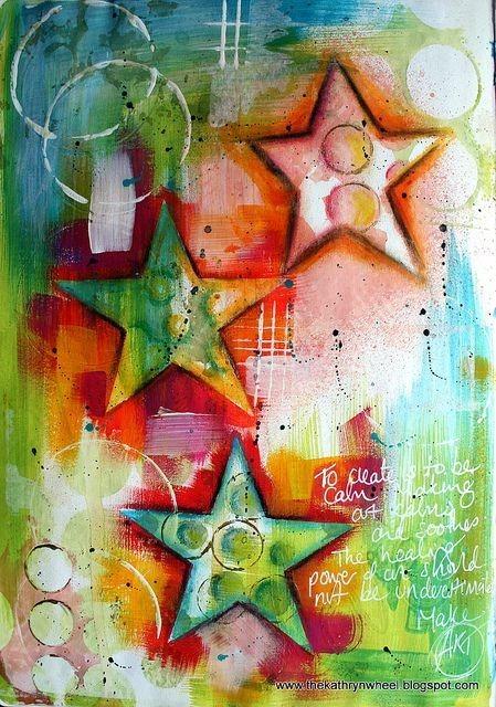 Inspiring Art Journal Page Ideas- make_art_journal_page
