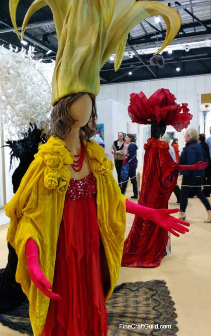 my fair lady theatre costumes Creative Stitches & Hobby Crafts Show 2014 London