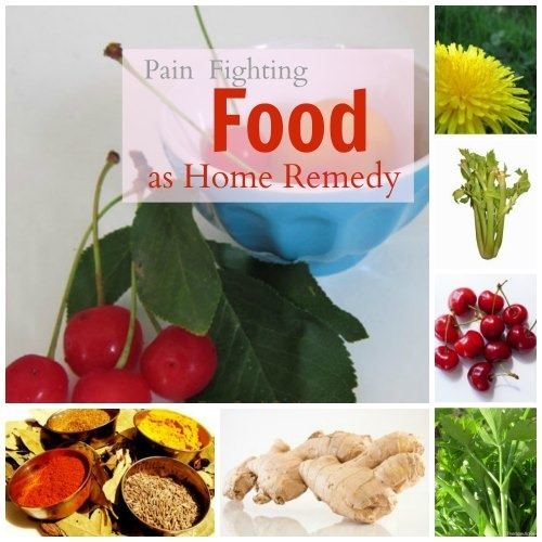 Food as Home Pain Remedy + LINKY PARTY