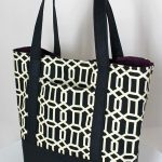 perfect canvas tote bag sewing pattern