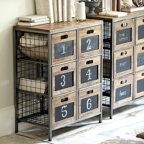 Ballard Designs camebridge storage cabinet Knockoff