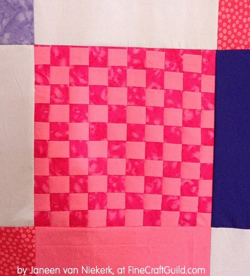 free lap quilt pattern, how to make a unique modern lap quilt, tutorial for beginners, quilting class 9