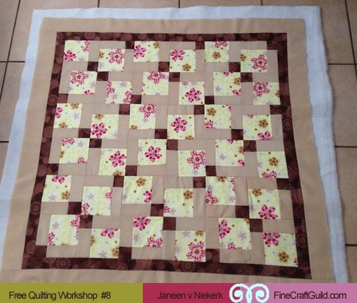 How to Add Batting & Backing, and Bind a Quilt – Free Class