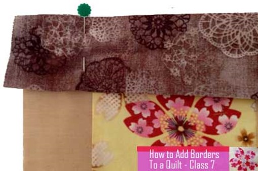 quilting how to add borders