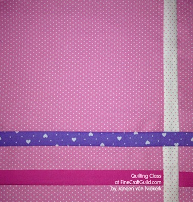 how to  make great quilt blocks, free online quilting course, class 9