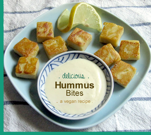 hummus bites :: cocktail party appetizers recipe