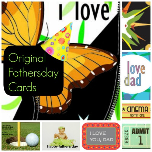 LINKY PARTY: Original Fathers Day Cards & Gift Ideas