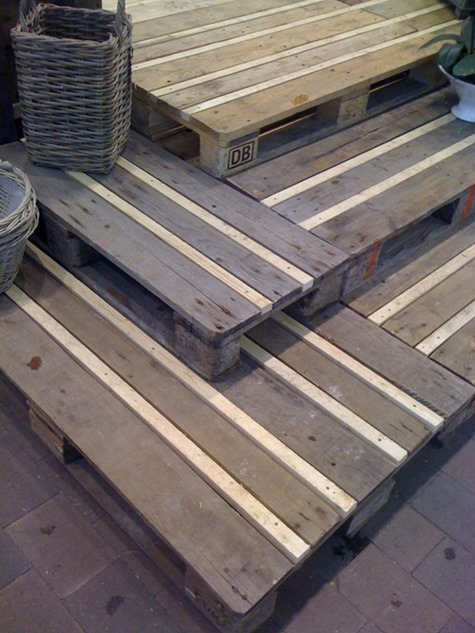 diy pallet patio