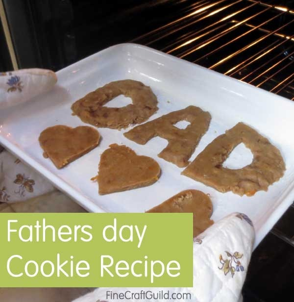Orange Zest Sugar Cookies Recipe for DIY Fathers Day Gifts