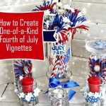 Fourth of July Decorations: DIY w/ Recycled Glass