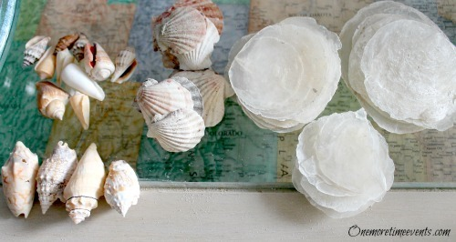 DIY Home Décor – Beach Cottage Summer Arrangements -  Shell Flowers - FineCraftGuild.com