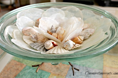 DIY Wedding | Home Décor – Beach Cottage DIY Seashell Centerpieces Ideas - FineCraftGuild.com