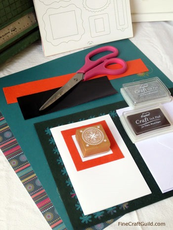 diy fathersday cards stamps