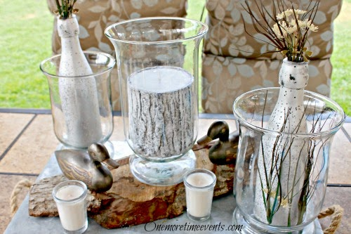 diy fathersday centerpieces