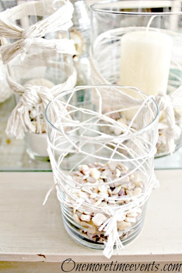 DIY Beach Decor Ideas :: shell trio all net ideas
