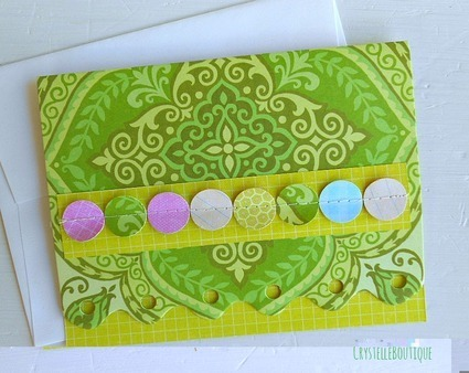 simple blank cards diy :: green card designer featured
