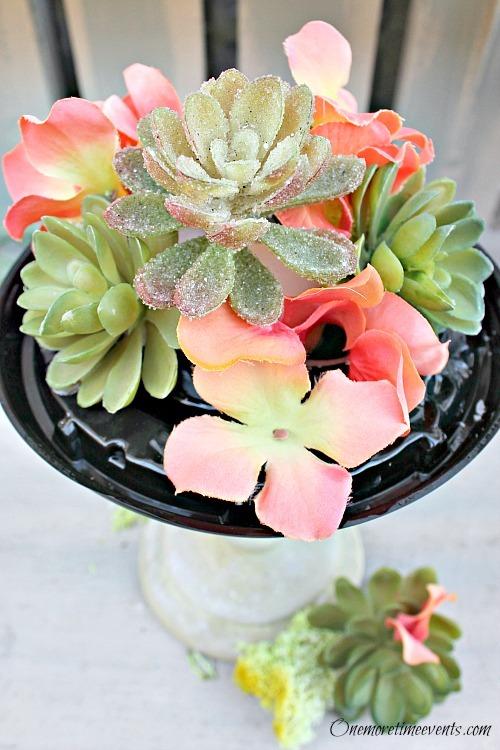 Dome flower arrangement