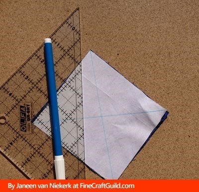 half square triangles :: quilt patterns techniques :: free online quilting workshop