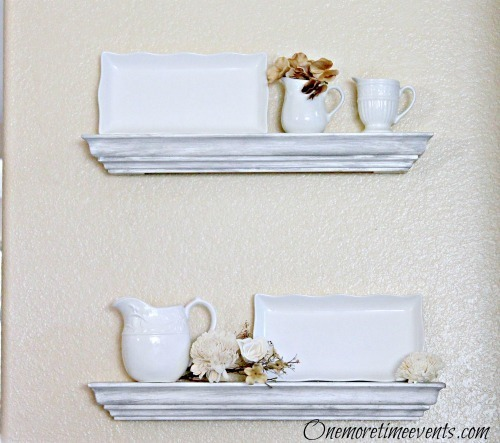 How to hange floating shelfs decorated2