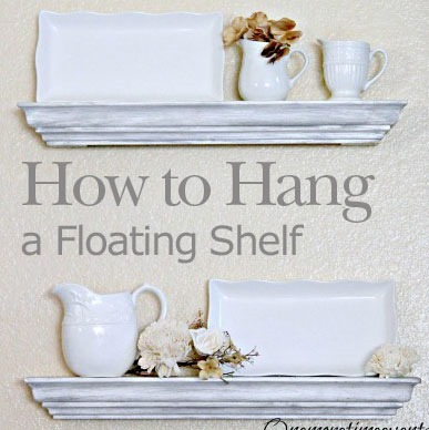 How to Hang a Floating Shelf