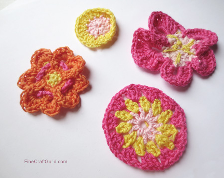 Beautiful Crochet Flower Patterns