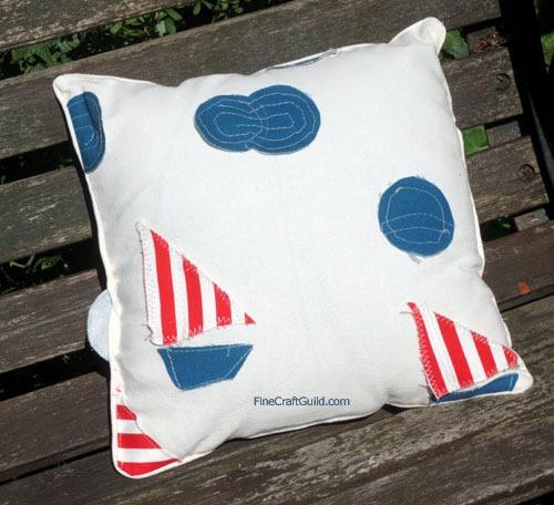 Nautical Decorative Pillows - Sewing Pattern