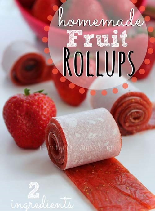 easy dessert recipe fruit rollups  :: healthy 4th of july desserts recipes :: FineCraftGuild.com