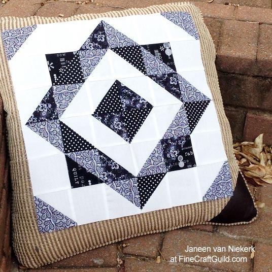half square triangle quilt pattern
