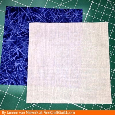 how to make quilt triangles free online workshop