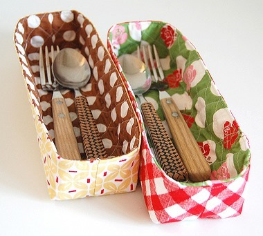 Quilted Organizing Baskets - Free Sewing Pattern