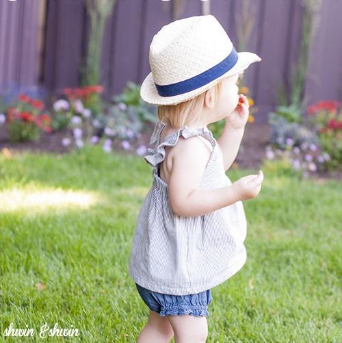 toddler summer dress tunic sewing pattern + list of other (free) toddler cloths sewing patterns