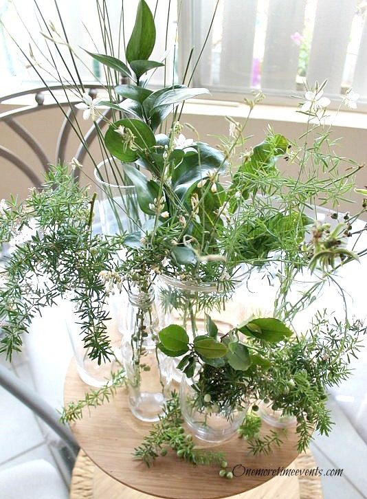 DIY Natural Arrangement