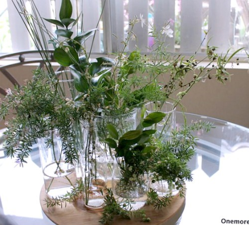 Natural Centerpiece table