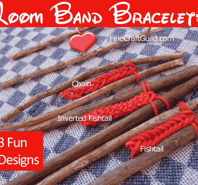 3 Cool Rubber Band Bracelets Designs