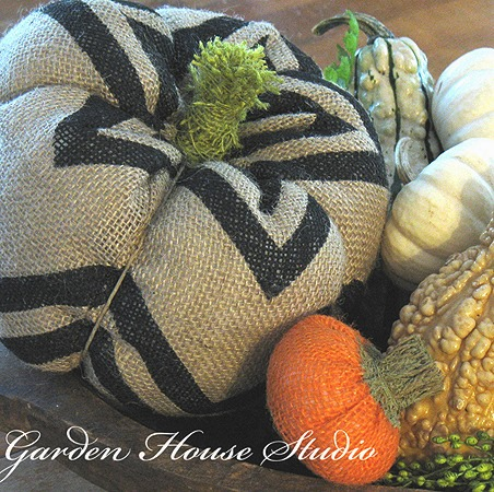 Fall Pictures of Faux Pumpkins for DIY Fall Home Decor Ideas :: FineCraftGuild.com
