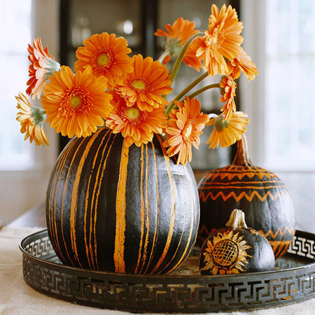 Cool Ethnic Pumpkin Decorating Ideas :: FineCraftGuild.com