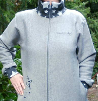 Fall Design Ideas :: Free Sewing Pattern :: Hoodie Jacket :: FineCraftGuild.com