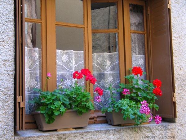 DIY French Country Kitchen window :: FineCraftGuild.com