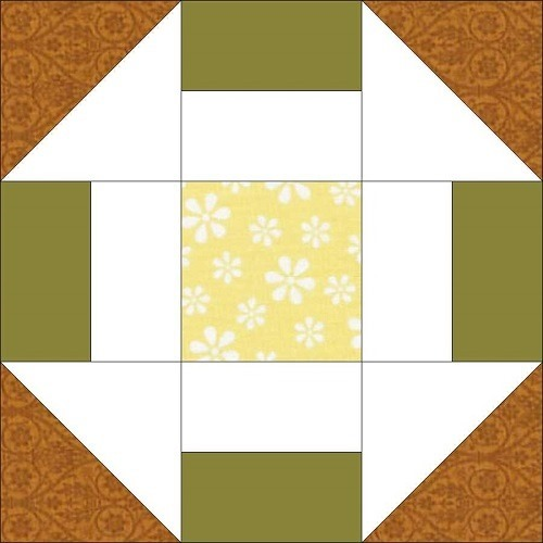 Greek Square Quilt Block Pattern – Workshop #21