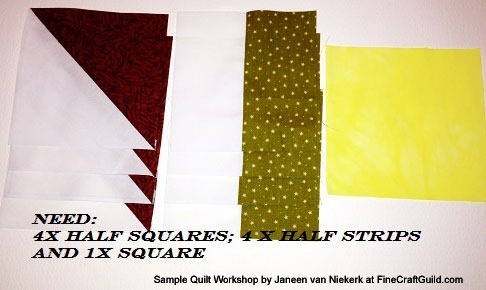 Free quilting workshop :: greek square quilt block pattern :: FineCraftGuild.com