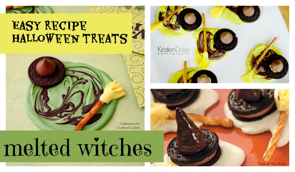 Halloween Treat Melted Witches