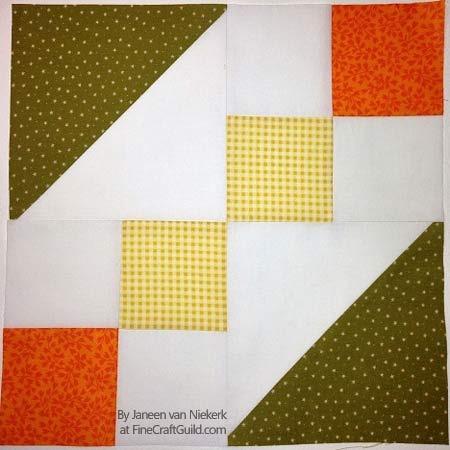 Free Hourglass Quilt Block Pattern + Workshop