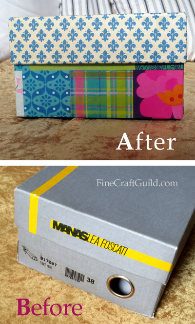 craft organzing box makeover :: fineCraftGuild.com