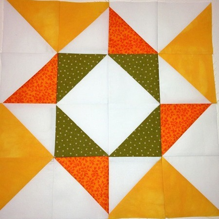 Whirlpool Block Pattern  – Sampler Quilt Workshop  #23