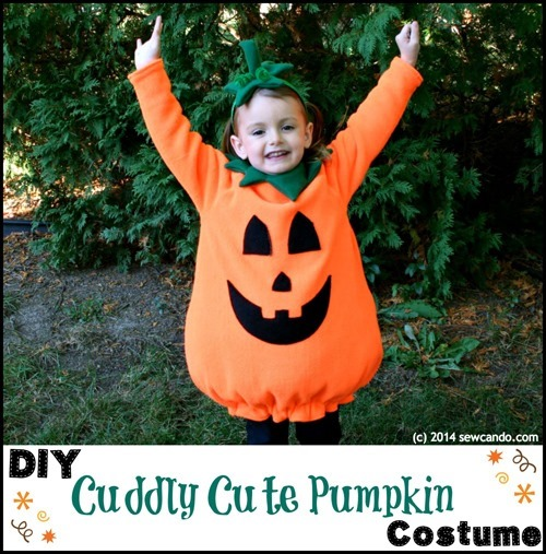 Best Halloween Ideas :: Homemade Pumpkin halloween Costume