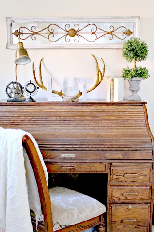 How to faux rust finish on home decor