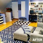 Craftroom Makeover Before After :: Featured at FineCraftGuild.com