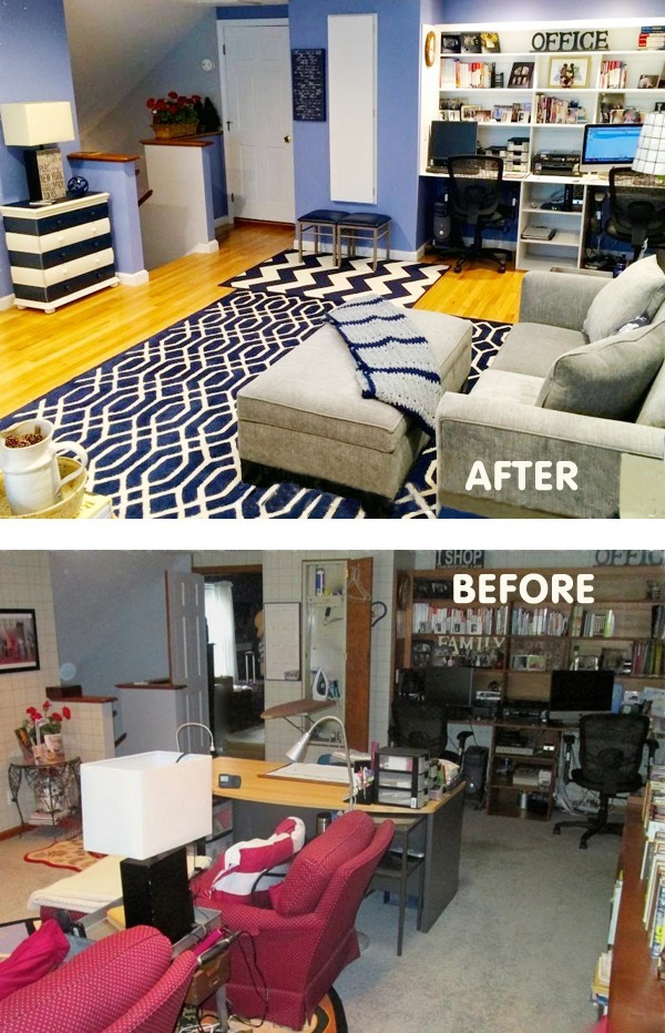 Office craft room makeover before after :: FineCraftGuild.com