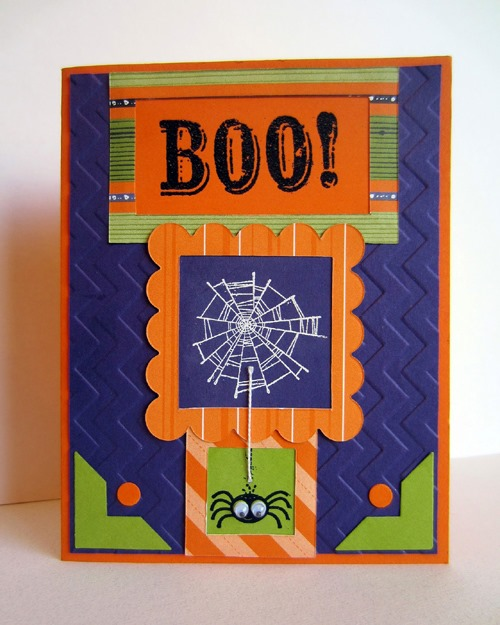 Best Halloween Ideas :: googly spider halloween card
